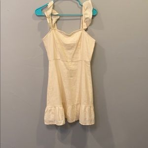 Urban Outfitters Cream Dress